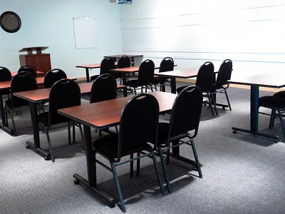 Pacific Safety Products Boardroom – classroom style